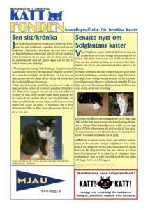 Nyhetsbrev 1/2006